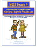 NGSS Grade 4 Engineer Solutions: Natural Earth Processes Performance Assessment