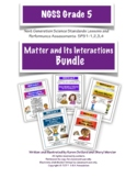NGSS Grade 5 Matter and Its Interactions Assessments Bundle PS-1