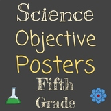 Objective Posters | Grade 5 Science NGSS | Entire Year