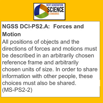 NGSS Special Education & ELL Graphing Motion Worksheets