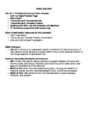 Protein Synthesis Printable Curriculum Pack NGSS HS-LS1-1