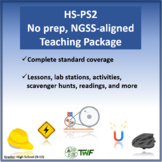 NGSS - HS PS2 Motion and Stability - Complete Resource Package