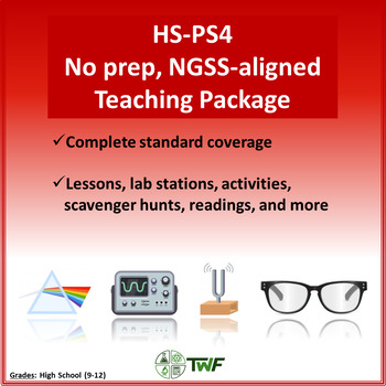 NGSS - HS PS4 Waves - Complete Resource Package