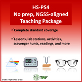NGSS - HS PS4 Waves - Complete Resource Bundle