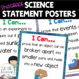 Next Generation Science Standards Grade 2 I Can Statement Posters