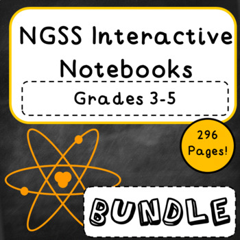 NGSS Interactive Notebook Bundle
