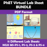 NGSS Investigations for PHET Online Simulations Bundle #1