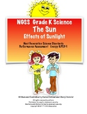 NGSS Kindergarten Science The Sun: Observe Effects of Sunlight