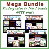 NGSS Kindergarten to Third Grade Units Mega Bundle