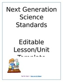 NGSS Lesson and Unit Template