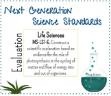 NGSS Life Science LS1-6 Photosynthesis Cycling of Matter a
