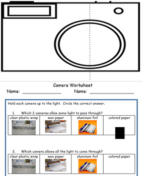NGSS Light Waves for 1st Grade