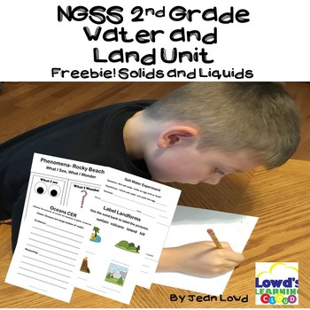 *NGSS* Liquids and Solids Freebie