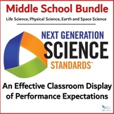 NGSS MIDDLE SCHOOL Bundle - Performance Expectation Classr