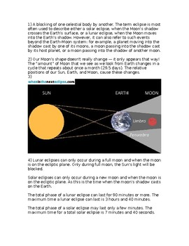 Ngss Ms Ess1 1 The Sun Earth Moon System And Seasons Worksheet Tpt