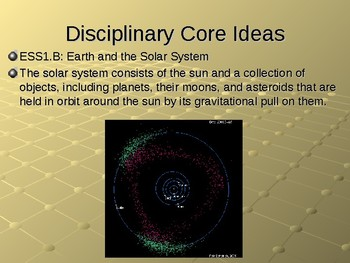 NGSS MS ESS1-3 Earth's Place in the Universe-Comparing Solar System Objects