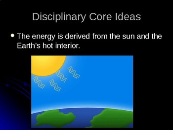 NGSS MS-ESS2-1 Earth's Systems-Earth Processes