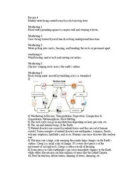 NGSS MS-ESS2-1 and 2-2 Study Guide Worksheet
