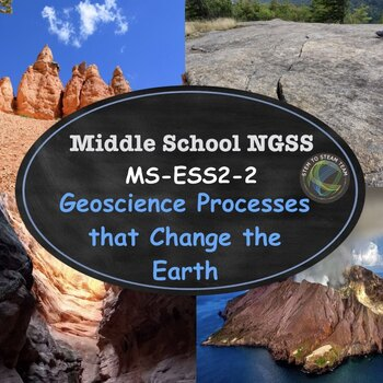 NGSS: MS-ESS2-2  Geoscience Processes that Change the Earth's Surface