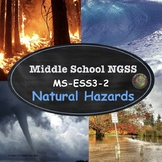 NGSS: MS-ESS3-2  Earth and Human Activity: Natural Hazards