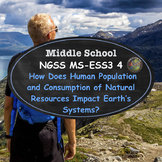 NGSS: MS-ESS3-4  Population Growth and Consumption of Natu