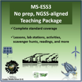 NGSS - MS ESS3 Earth and Human Activity - Complete Resource Package