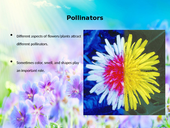 NGSS MS-LS1-4 Pollination and Animal Behaviors