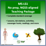 NGSS - MS LS1 From Molecules to Organisms - Complete Resource Package