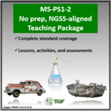 NGSS - MS-PS1-2 - No Prep Unit With Teaching Timeline and All Resources