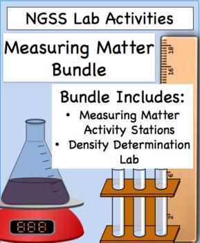 NGSS: Measuring Matter Bundle
