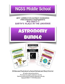 NGSS Middle School Astronomy Bundle