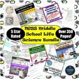 NGSS Life Science Middle School Bundle of Activities 16 Products Over 160 Pages