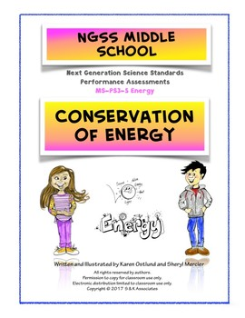 NGSS Middle School Conservation of Energy Performance Assessment PS3-5