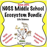 Ecosystem and Food Chain Bundle NGSS MS LS 2.3 MS LS 2.4 and MS-LS2-5