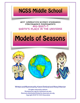 NGSS Middle School Models of Seasons MS-ESS1-1