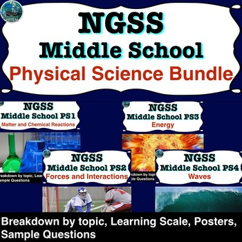 NGSS* Middle School Physical Science Bundle (guide for use with the NGSS)