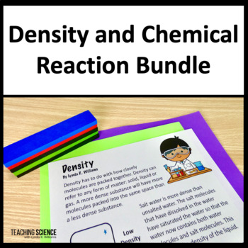 NGSS Middle School Physical Science Bundle