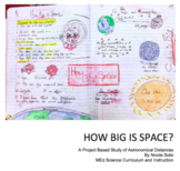 NGSS Physical Science & Math - Scaling the Solar System & Astronomy