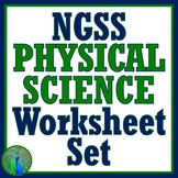 Physical Science Worksheet BUNDLE SET Great as science sub plans!