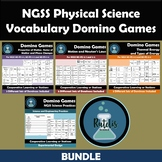 NGSS Middle School Physical Science Vocabulary Domino Revi
