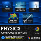 NGSS Middle School Physics Curriculum - Growing Bundle - D