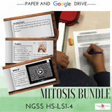 NGSS Mitosis Lessons BUNDLE (HS-LS1-4) Distance Learning