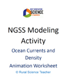 NGSS Modeling Activity Ocean Currents and Density Animatio