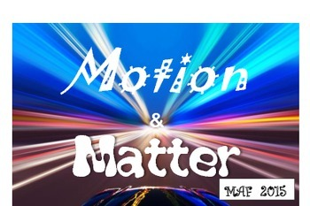 NGSS Motion & Matter Vocabulary Cards