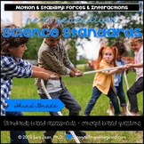 Next Generation Science Standards NGSS 3rd Grade 3-PS2 • Motion & Forces