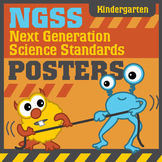 NGSS Next Generation Science Standards Posters: Kindergarten