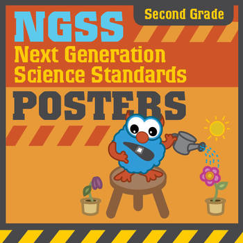 NGSS Next Generation Science Standards Posters: Second (2nd) Grade