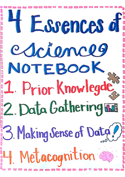NGSS Notebook 4 Essences of Science