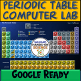 Distance Learning MS-PS1-1 HS-PS1 NGSS Periodic Table Comp