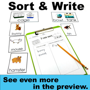 All Animals including Pets have Traits and Adaptations Science Set 2